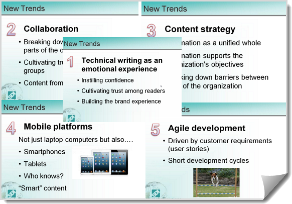 technical communication trends